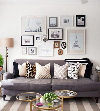 Pillows and frames