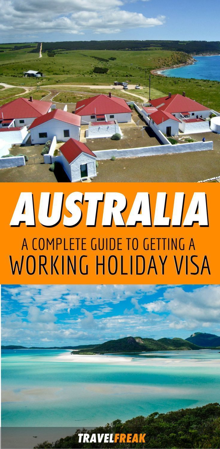 The easiest place to work and travel is in Australia. It's easy to apply for and it's one of the most flexible programs that's available to people under the age of 30! So check out this Australia working holiday visa guide and start packing your bags! | working holiday Australia bucket lists | working holiday visa Australia | Australia working holiday travel tips #workingholiday #australian - via @travelfreak_ #australiatravel