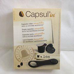 100 Capsul'in compatibles Nespresso
