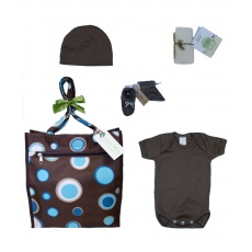 New Arrival in Brown from Baby Tote Naturals