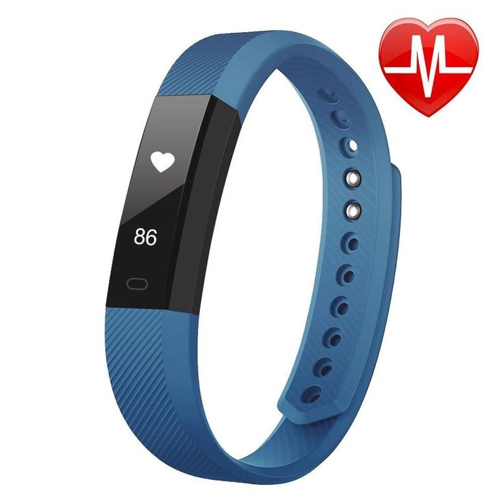 Fitness Activity Tracker Watch Fitbit Heart Rate Monitor Pedometer Android IOS #LETSCOM