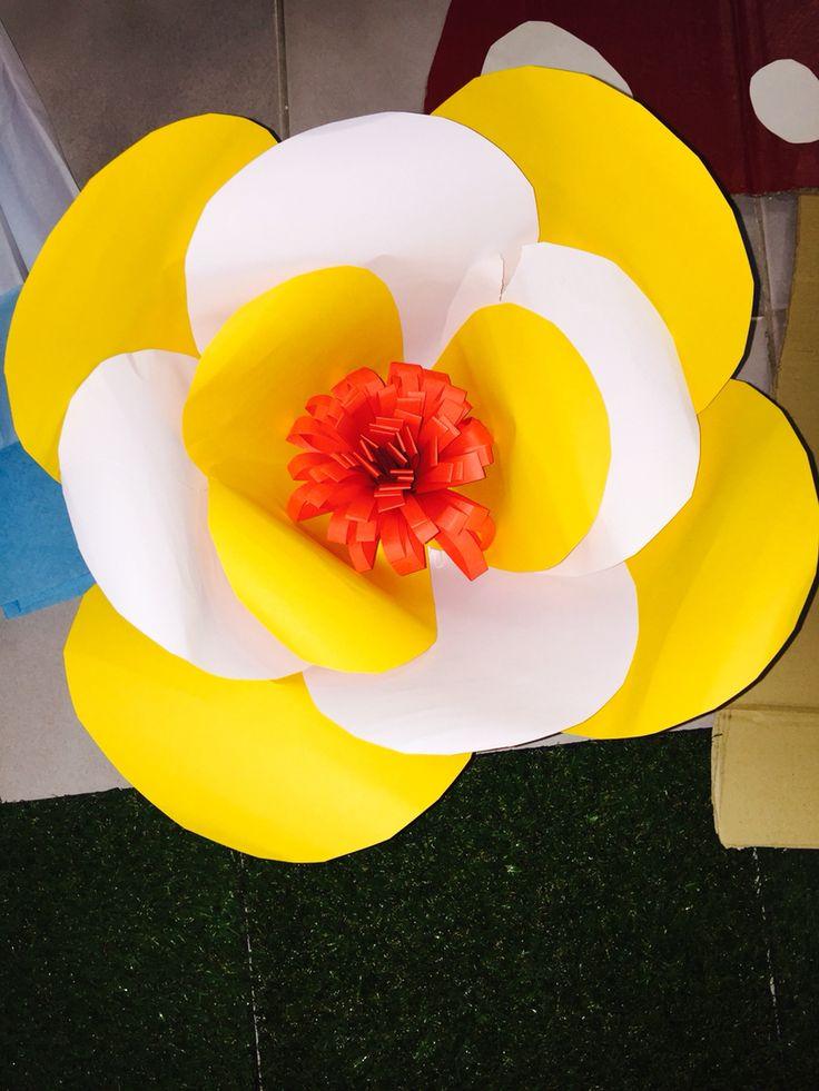 DIY simple paper flowers