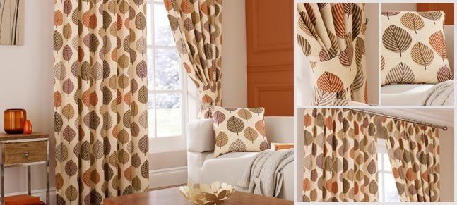 Terracotta Regan Curtain Collection