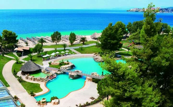 Porto carras resort,Halkidiki, Greece