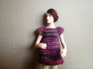 Mary -doll by Taru Astikainen, clothes by Hanna Meronen