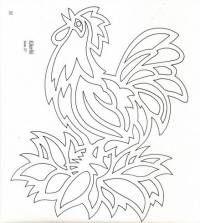 Поделки из бумаги: разноцветный петушок - поделки из бумаги - Поделки руками детей - Каталог статей - Академия поделок