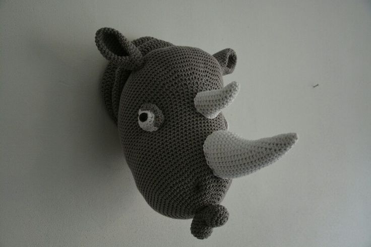 Neushoorn hoofd