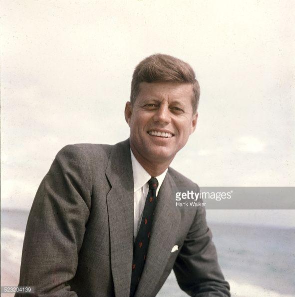 American Senator from Massachusetts, John F. Kennedy , 1957.