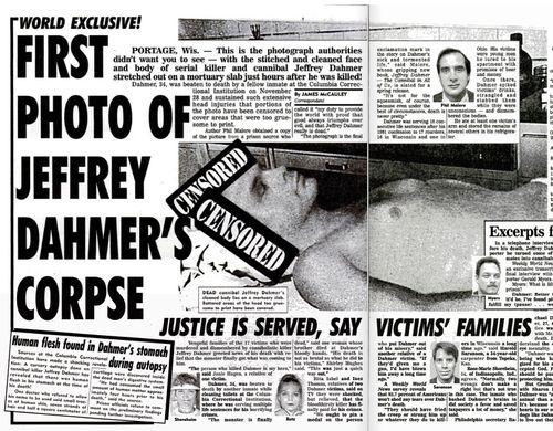 Jeffrey Dahmer Fridge Human flesh found in dahmer's