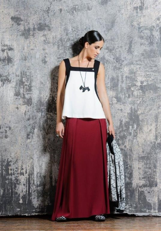Long skirts.. another must have for this season!