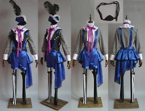 Black-Butler-Kuroshitsuji-Ciel-Phantomhive-Circus-Cosplay-Costume-Any-Size