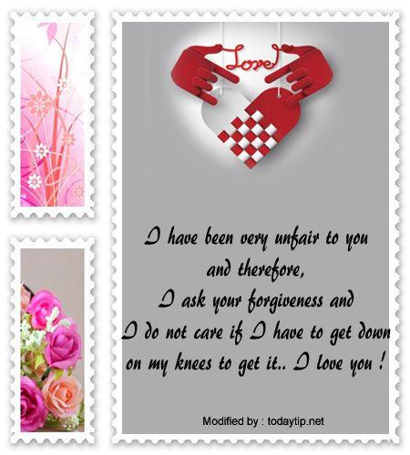 M s de 25 ideas incre bles sobre Im sorry letters en Pinterest – Apology Love Letter