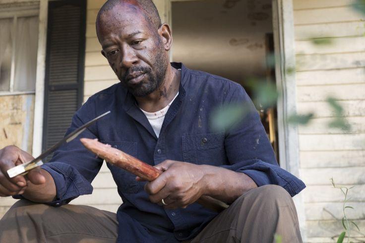Lennie James as Morgan Jones - The Walking Dead _ Season 7, Episode 15 - Photo Credit: Gene Page