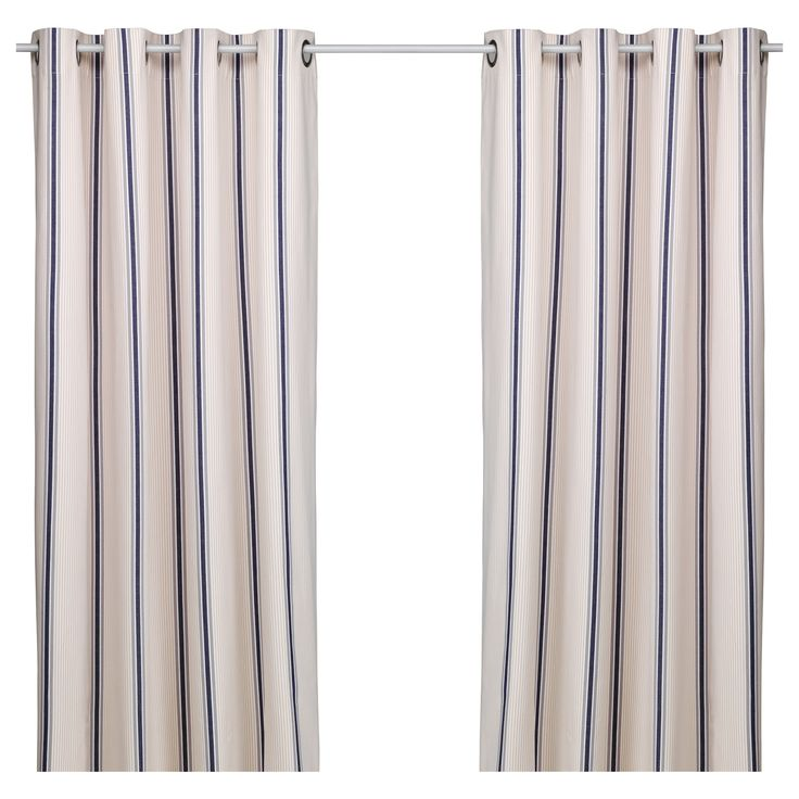 ESTRID Curtains, 1 Pair - IKEA Idea For Little Curtain Over Junk In Kitchen