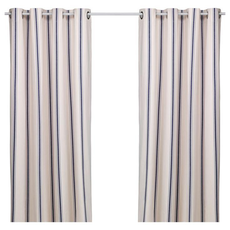 ESTRID Curtains 1 pair IKEA idea for little curtain