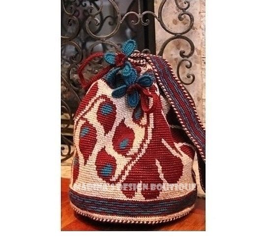 Harmony - Shoulder Drawstring Bag  PDF Crochet Pattern