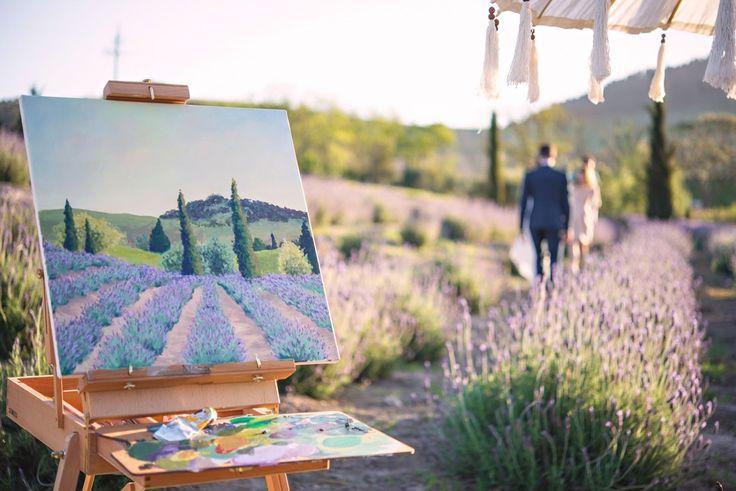 LavendLive wedding painter - Mary-Ann Art