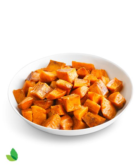 (Sugar free) Candied Sweet Potatoes  -- saw them served with small cinnamon sticks at the Ritz. Very attractive. Easy way to present them all fancy-like.