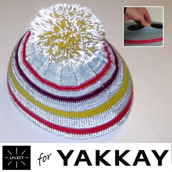 LFLECT — Reflective Woolly Hat Helmet Cover