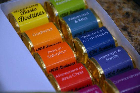 { Mormon Share } Make a Seminary Basic Doctrines Candy Box