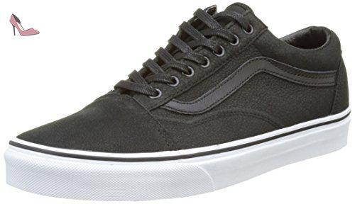 Vans U Era (Washed) LEOPAR, Sneakers Basses Adulte Mixte - Bleu - Bleu, 44.5 EU (10 Erwachsene UK)