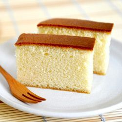A traditional Japanese honey sponge cake - so moist and delicious!
