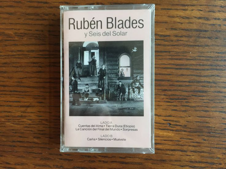 NEW FACTORY SEALED Escenas by Ruben Blades y Seis Del Solar Cassette 1985 Elektra World Music Salsa Music Collectible Music Gift by Samanthasunshineshop on Etsy