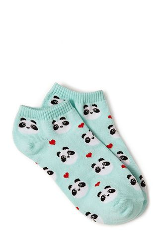 Happy Panda Ankle Socks | FOREVER21 - 2000125111