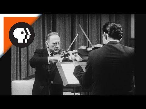 Jascha Heifetz Tests Itzhak Perlman's Skills - scales anecdote!!!