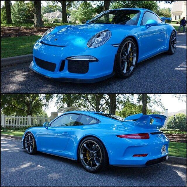 Mexico Blue 991 Gt3 Porsche Gt Porsche 356 Speedster Porsche Cars