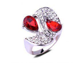 Masívny dámsky prsteň