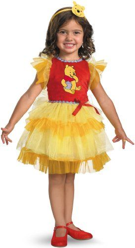 dbec12788243 Frilly Winnie The Pooh Costume (12-18 months) Best Halloween Costumes    Dresses