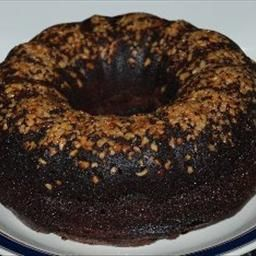 World's Best Chocolate Rum Cake  1 C Rum, no water. Add rum into glaze after it's heated. Drizzle on cake after it's out of the pan.