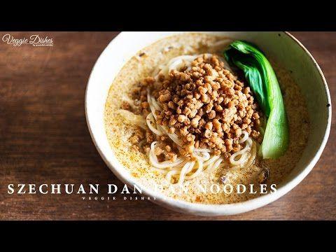 お肉も鶏ガラも使わない、ヴィーガン担々麺の作り方 : How to make Dan-Dan Noodles   Veggie Dishes b...