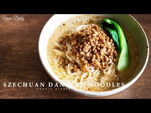 お肉も鶏ガラも使わない、ヴィーガン担々麺の作り方 : How to make Dan-Dan Noodles | Veggie Dishes by Peaceful Cuisine - YouTube