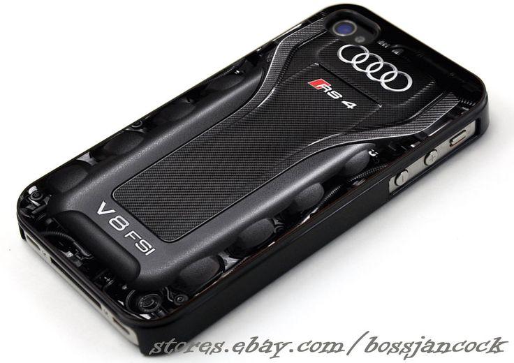 Audi RS4 V 8 FSI Engine Cases iPhone 4 4s 5 5s 5c 6 6 plus, Samsung Galaxy Case #UnbrandedGeneric
