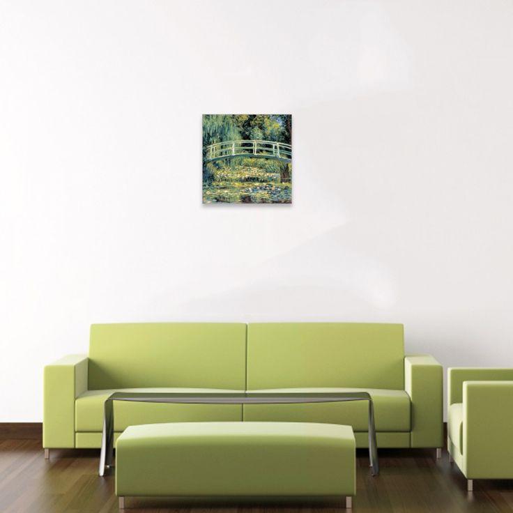MONET - Le pont japonais #artprints #interior #design #art #prints #Monet  Scopri Descrizione e Prezzo http://www.artopweb.com/autori/claude-monet/EC20868