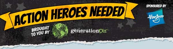 GenerationOn, together with Hasbro, challenges young people to be action heroes in their communities this summer.Challenges Young, Young People