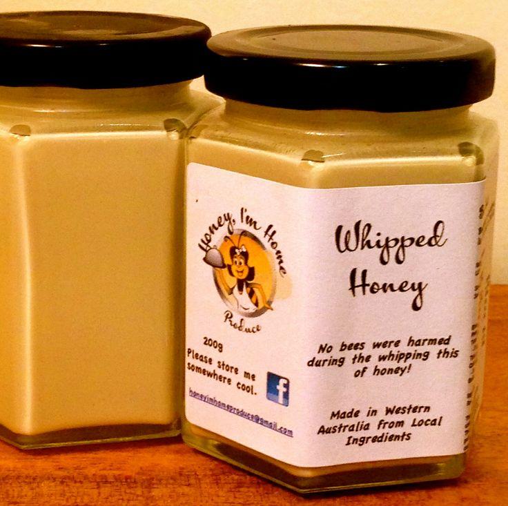 Whipped Honey from Honey I'm Home.