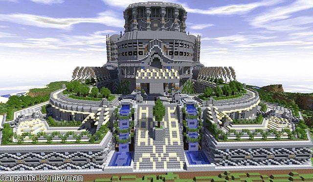 Gargantia Minecraft World Save