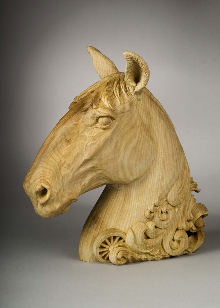 198 Best A Carvings Equine Images On Pinterest Carved