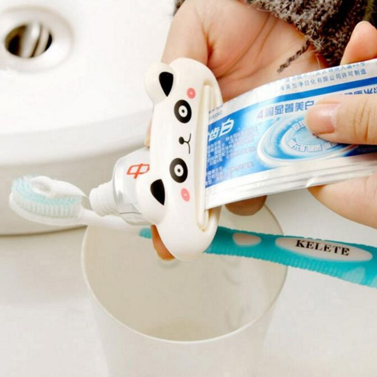 Hot Animal multifunction toothpaste squeezer Home Commodity Bathroom Tube Cartoon Toothpaste Dispenser 3PCS/LOT
