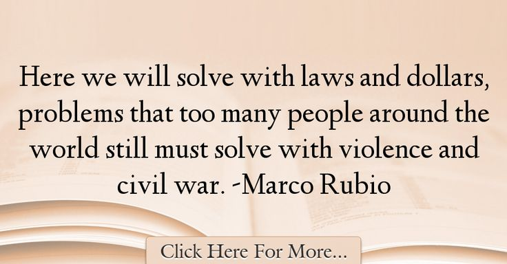 Marco Rubio Quotes About War - 72031