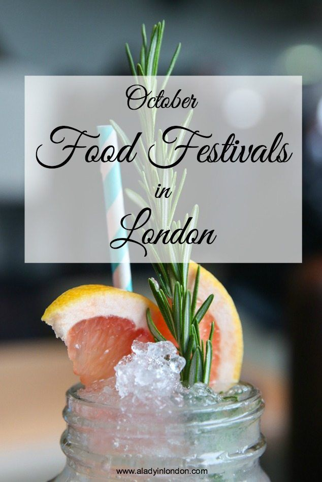 October is unofficial food month in London. To help you make sense of it all, today I bring you a guide to 9 October food festivals in London.