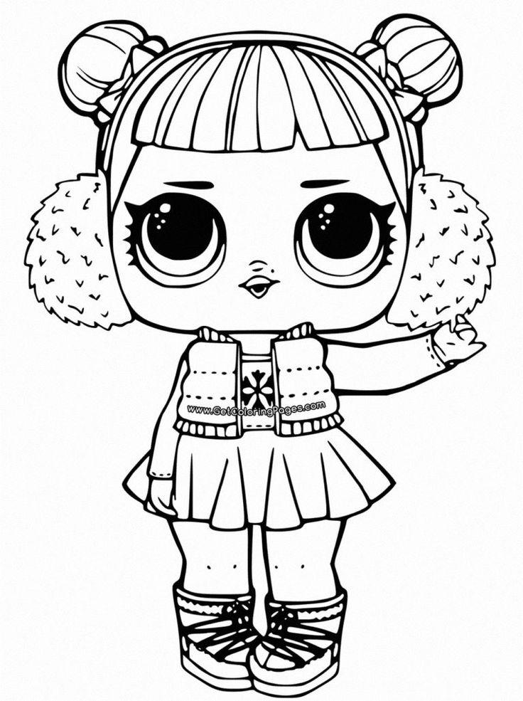 Раскраски куклы ЛОЛ Сюрприз. Распечатайте бесплатно все