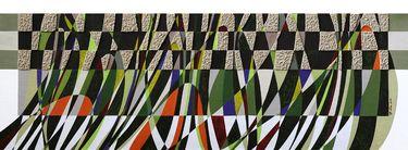 "Saatchi Art Artist Graziella Coi; Painting, ""Sabbia ed erba_Particolare/ Sand and Grass_Detail "" #art"