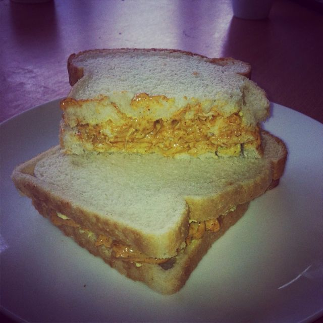 Chicken tikka sandwich filler