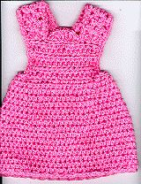 Jumper for 18 inch or American Girl dolls. Free pattern.