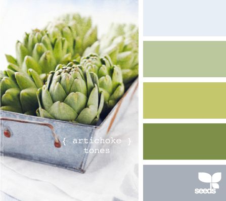 artichoke tones: Kitchens Colors, Bathroom Colors, Design Seeds, Artichokes Tones, Bedrooms Colors, Living Room, Colors Palettes, Colors Schemes, Colors Inspiration