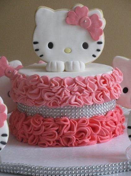 Fotos e Imágenes de Tortas de Hello Kitty Decoradas: ¿Cómo Hacer Pasteles de Hello Kitty?